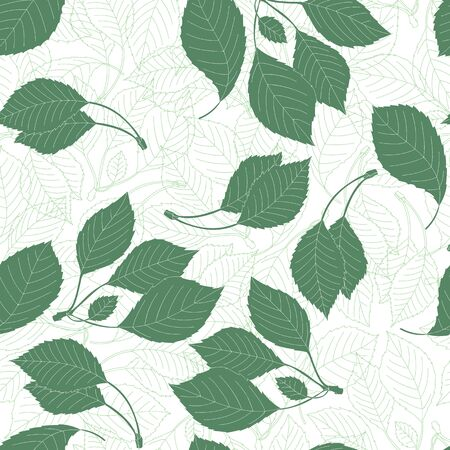Color pattern with leaves. Beautiful vector illustration with berry and leaves. Flat illustration. Ornamental composition for use on fashion clothing, fabric design, printed products, gift wrapping.