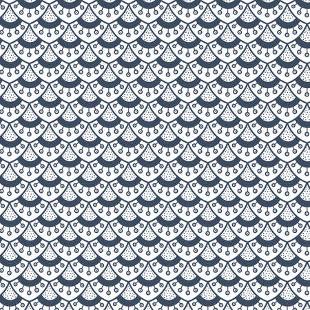 Beautiful seamless pattern with decorative elements. Abstract color pattern. Vector.
