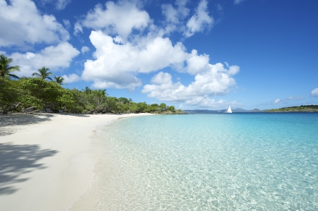 zafiro: Tranquilo Playa Caribe