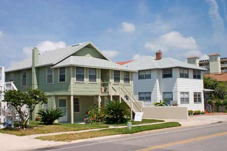 cottage style rental home near the beach in Jacksonville, Florida Stock Photo - 961308