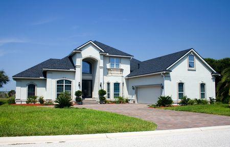 パステル ブルー沿岸生活フロリダの家