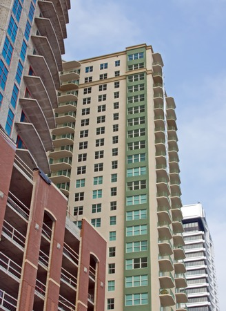 waterfront, high-rise condos near downtown Jacksonville, Florida