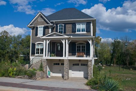 constructed: newly constructed, large upscale home