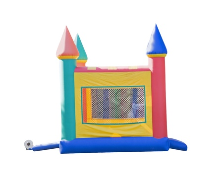 small bounce castle Stock Photo - 8965815