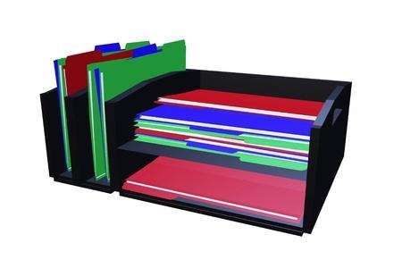 vertical dividers: desktop file organizer