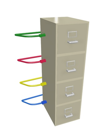 networked: networked filing cabinet