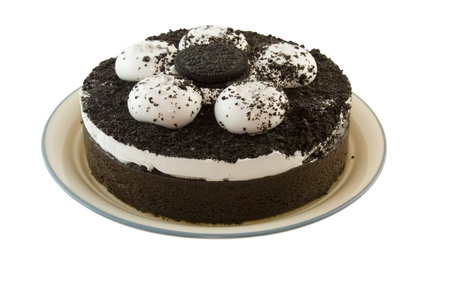 cookies and cream whole cake Stock fotó - 9029224