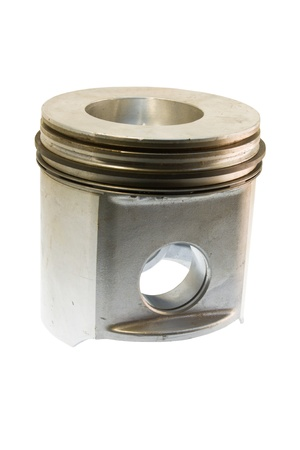 diesel piston on white