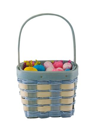 pastel easter basket