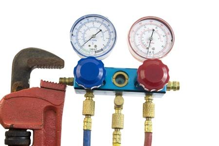 air pressure: air conditioning tools
