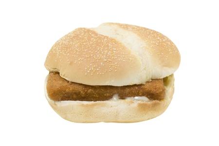 fried fish sandwich Stock fotó - 9273223
