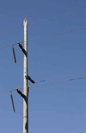 high voltage transmission line Stock fotó