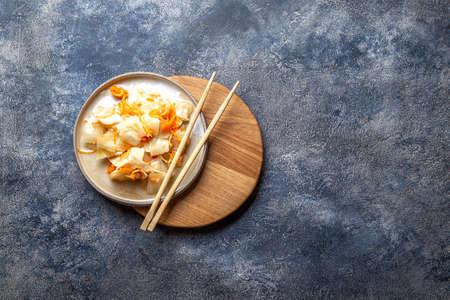 Corean kimchi. Fermented spisy cabbage