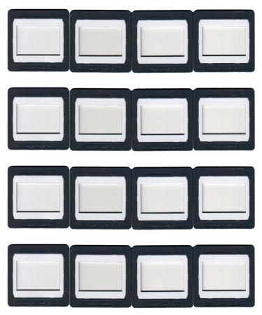 sixteen: sixteen clip-on slide frames made from plastic