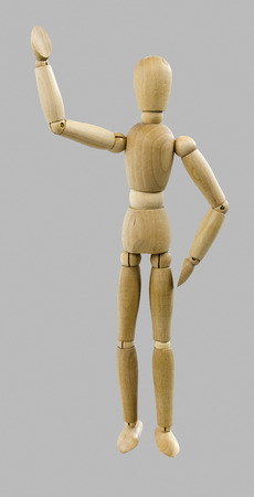 dutch: walking wooden Dutch doll