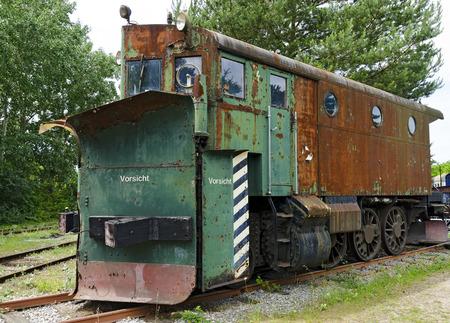 dozer: Snow removal locomotive with dozer blade