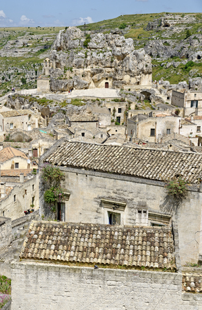 historic district of Matera