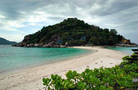 nang: Beach - Koh Nang Yuan, Thailand Stock Photo