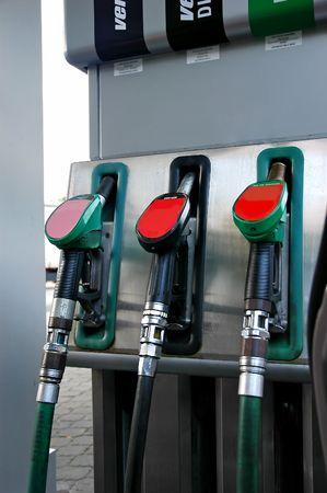 unleaded: Petrol Pump - fuel tank stand