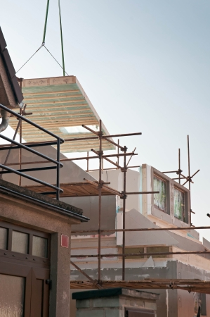 Building of a new modular low energy house