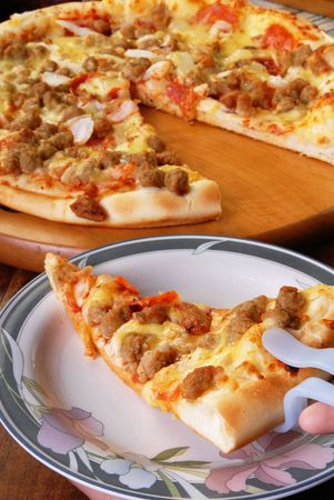 Very delicious pizza redy to eat  photo