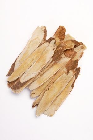 Traditional Chinese Medicine - Astragalus root  (Astragalus membranaceus) photo