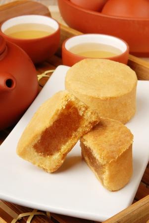 Taiwan famous dessert - pineapple cake  Stock Photo - 9972309