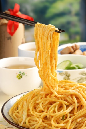 Traditional Chinese food-Cold noodles