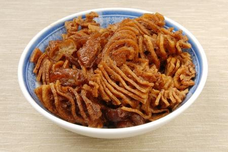 sapid: Stewed tofuskin - A Popular Chinese food Stock Photo
