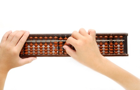 abaci:  Hands accounting with the abacus