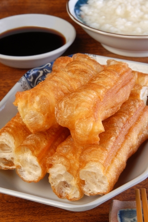 Chinese tradition food- Fried bread stick