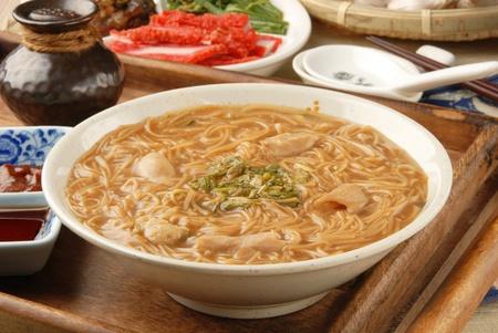 mian: Pork intestine thin noodles