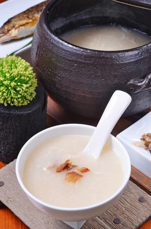 rice porridge  版權商用圖片