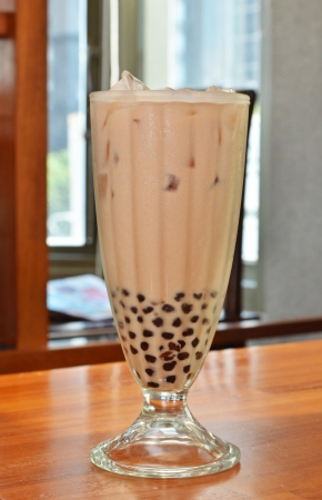 Pearl Milk Tea is Taiwan s most famous drink    Stock Photo - 14272944