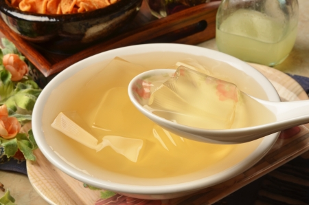 gelatina: Taiwan famoso postre - la gelatina vegetariana
