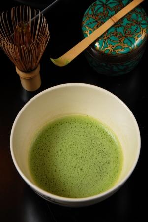 Japanese tea ceremony- green tea