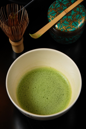 matcha: Japanese tea ceremony- green tea