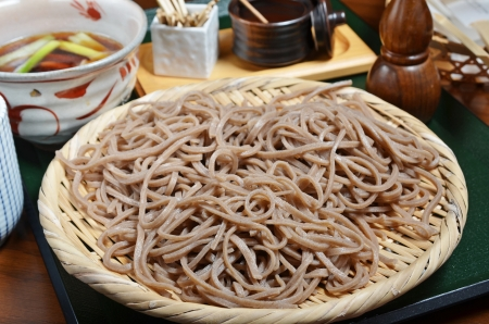 Traditional Japanese food-cold soba Stock Photo - 16606957