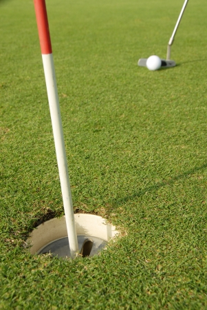 A short put in the game of golf  photo