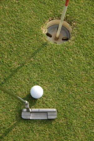 sportsperson: A short put in the game of golf