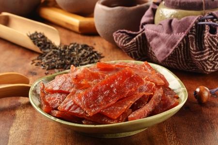 taiwanese: Dried pork - A Popular Taiwanese food