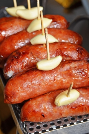 taiwanese: Roasts the sausage Taiwanese style