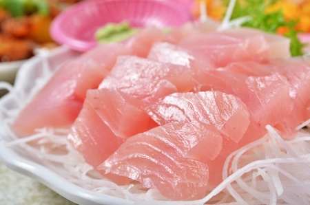 pez espada: Swordfish sashimi