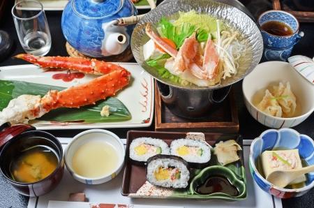 Japanese Kaiseki Cuisine 版權商用圖片