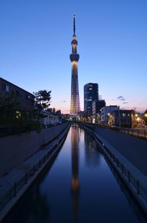 tokyo sky tree: The Tokyo Sky Tree in Tokyo, Japan