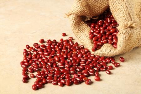 adzuki beans  Foto de archivo
