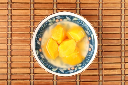 potato soup: Chinese sweet potato soup