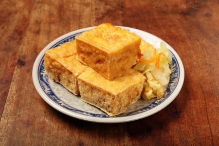stinky: Taiwan famous snack - Stinky tofu