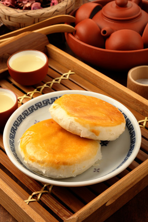 haricot: Taiwan s  traditional cake - Minced pork   haricot beans cake