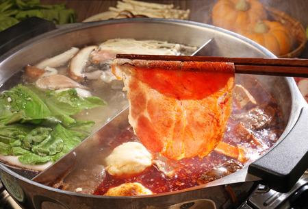 calor: doble sabor olla caliente